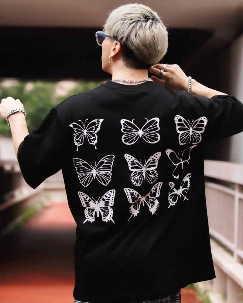 《2色》バタフライ13Tシャツの画像1